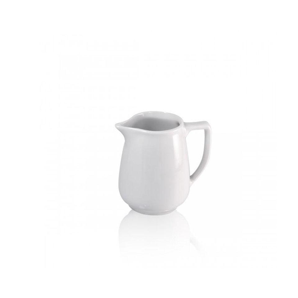 Lattiera Roma in porcellana bianca cl 46