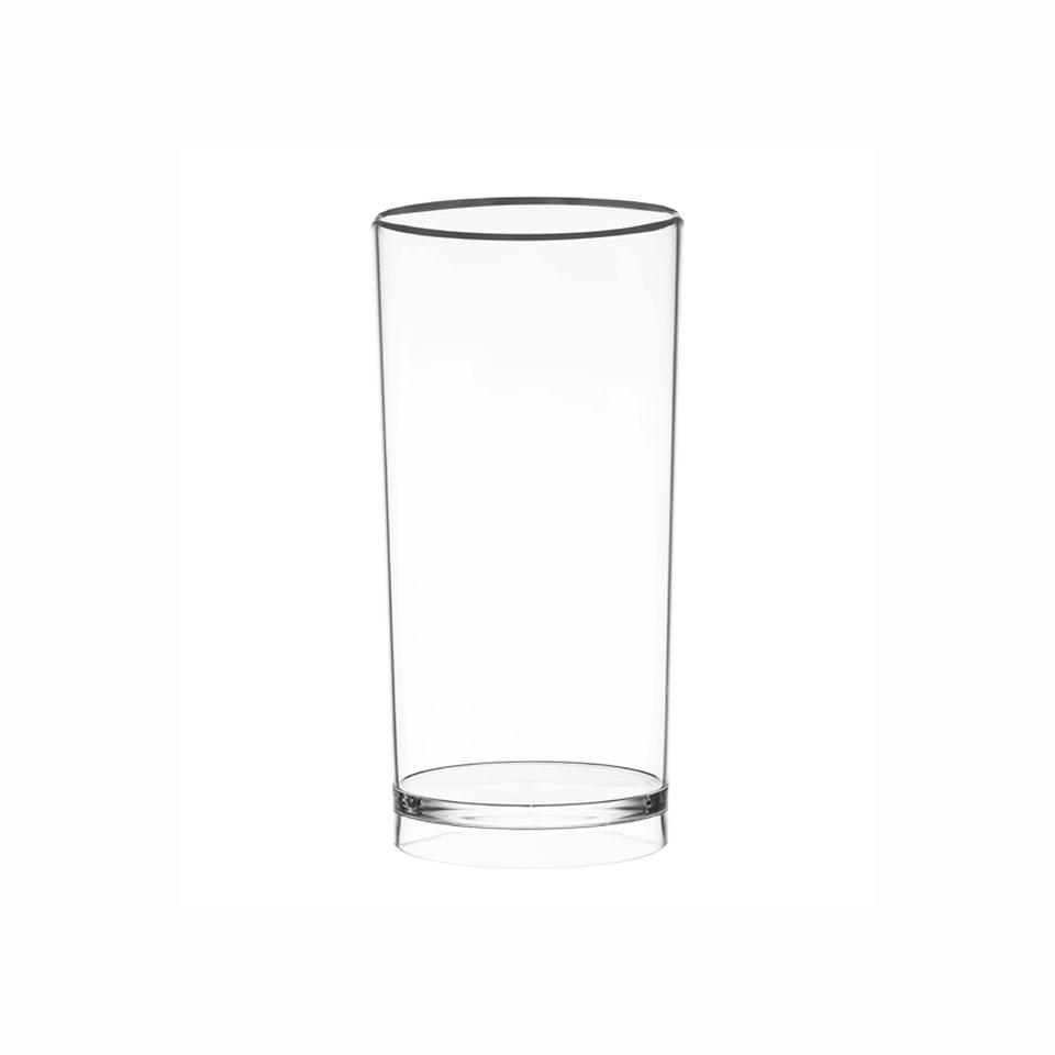 Secchiello Pure Bucket in acrilico trasparente cm 16x26,5