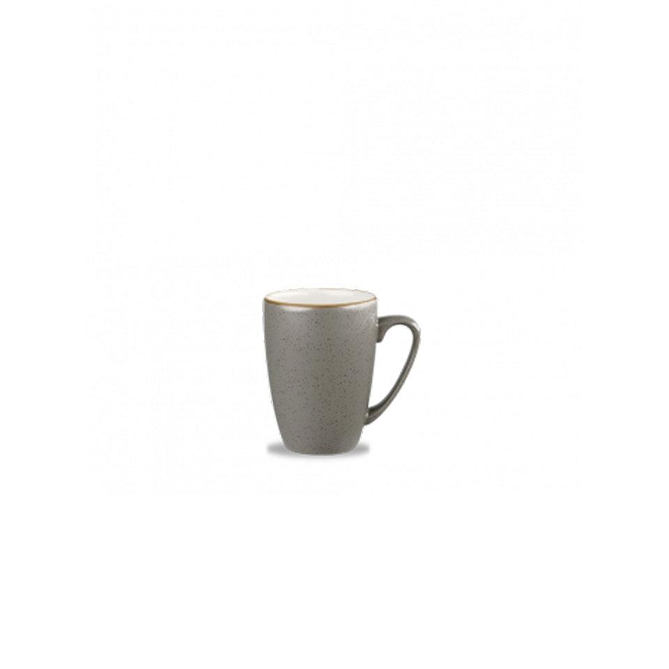 Tazza mug Stonecast Churchill in ceramica vetrificata grigia cl 34