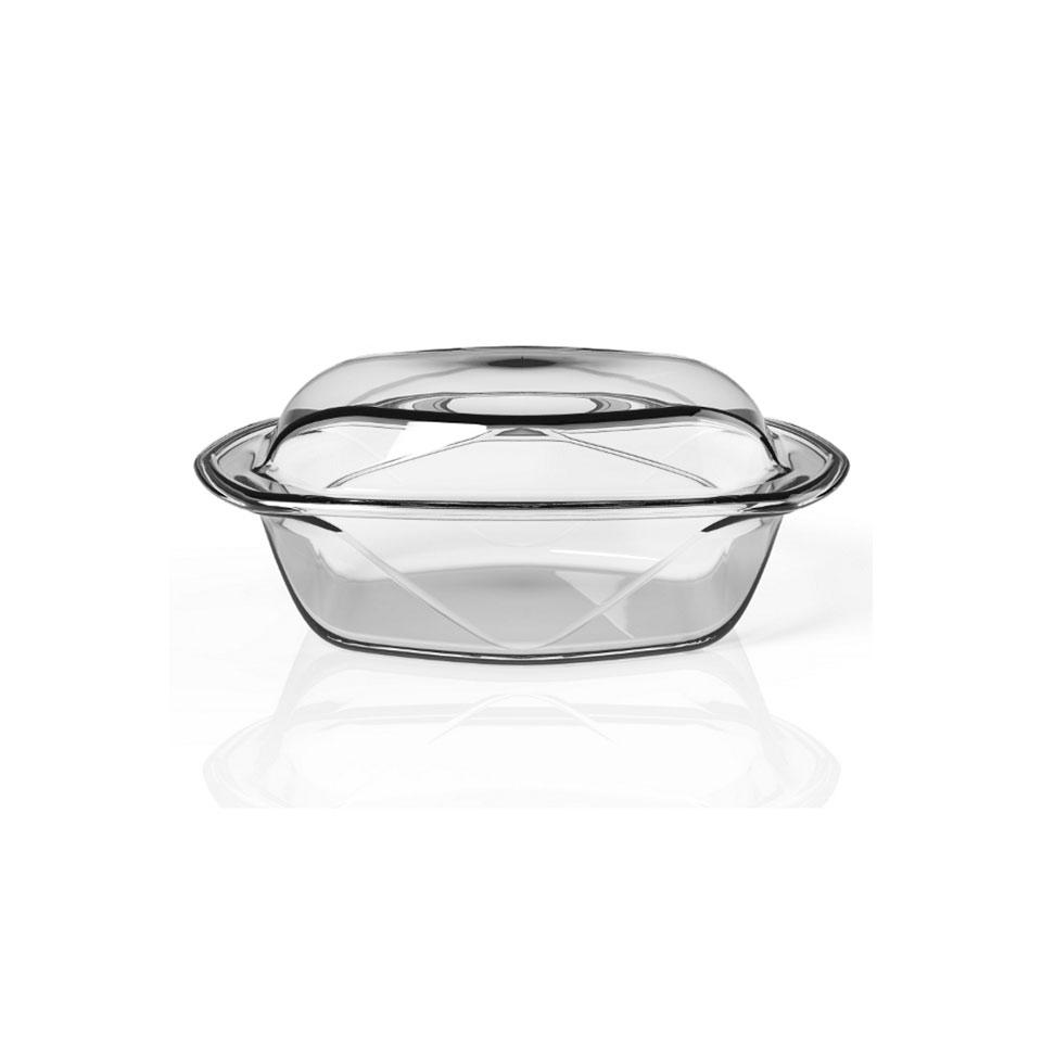 Set 2 pirofile Chef N' Table in vetro temperato