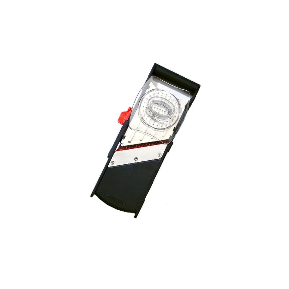 Mandolina Komi De Buyer in acciaio e plastica nera