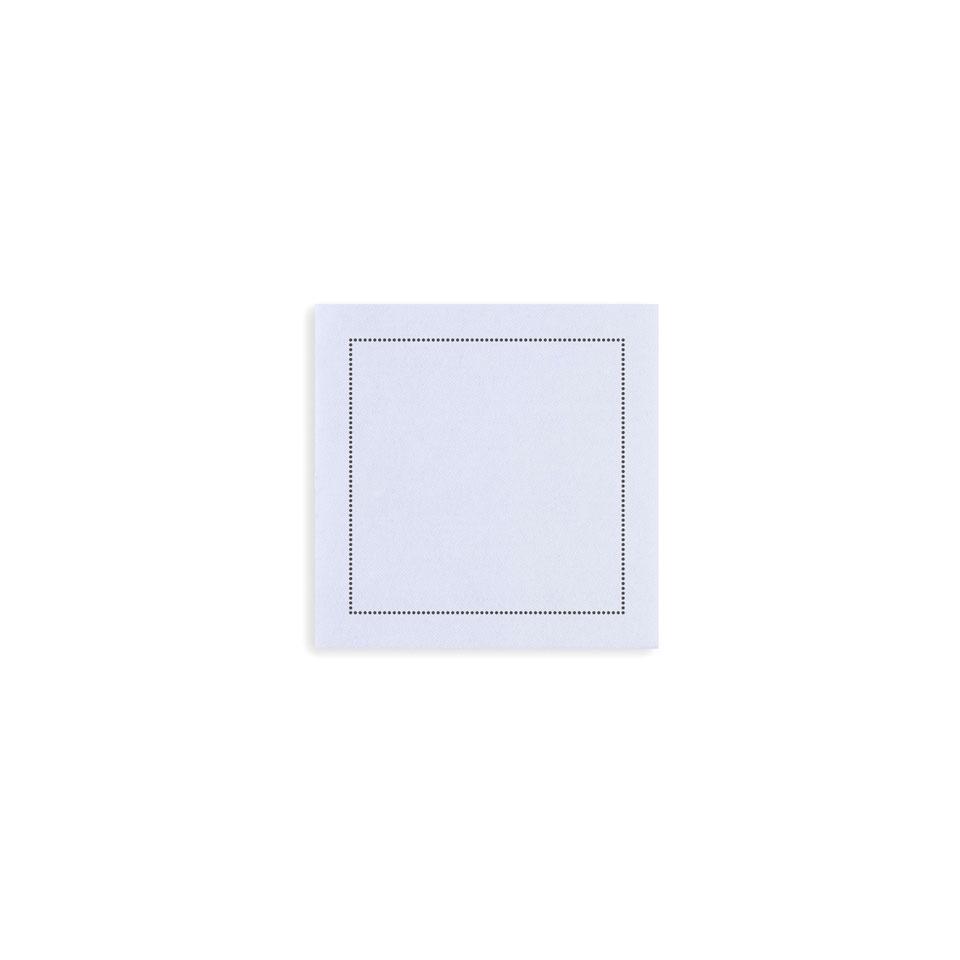 Sottobicchiere The Luxe in poliestere e cellulosa cm 10x10