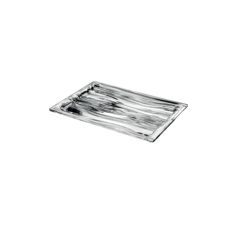 Vassoio rettangolare S'Acqua in san cm 23x16x2,2