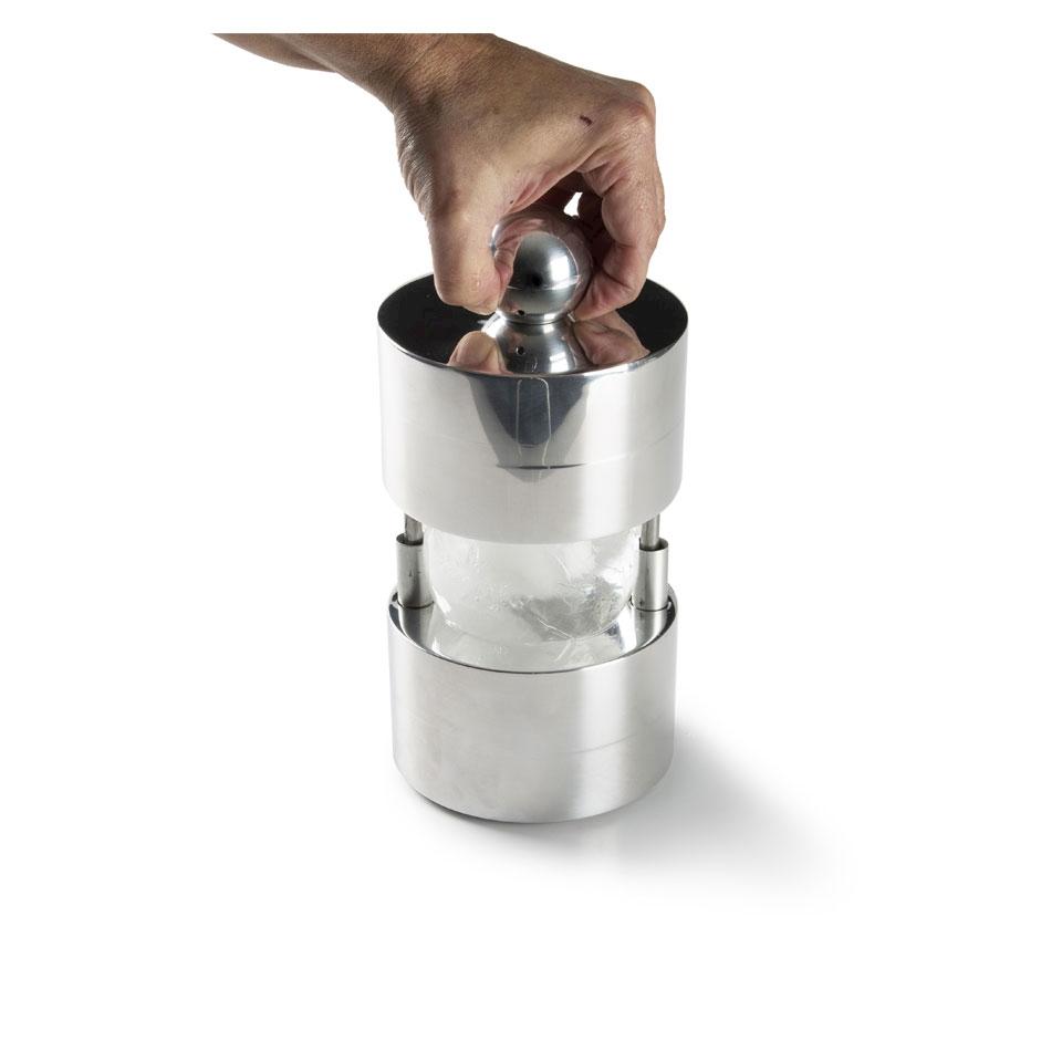 Stampo ghiaccio Ice Press 100% Chef in alluminio