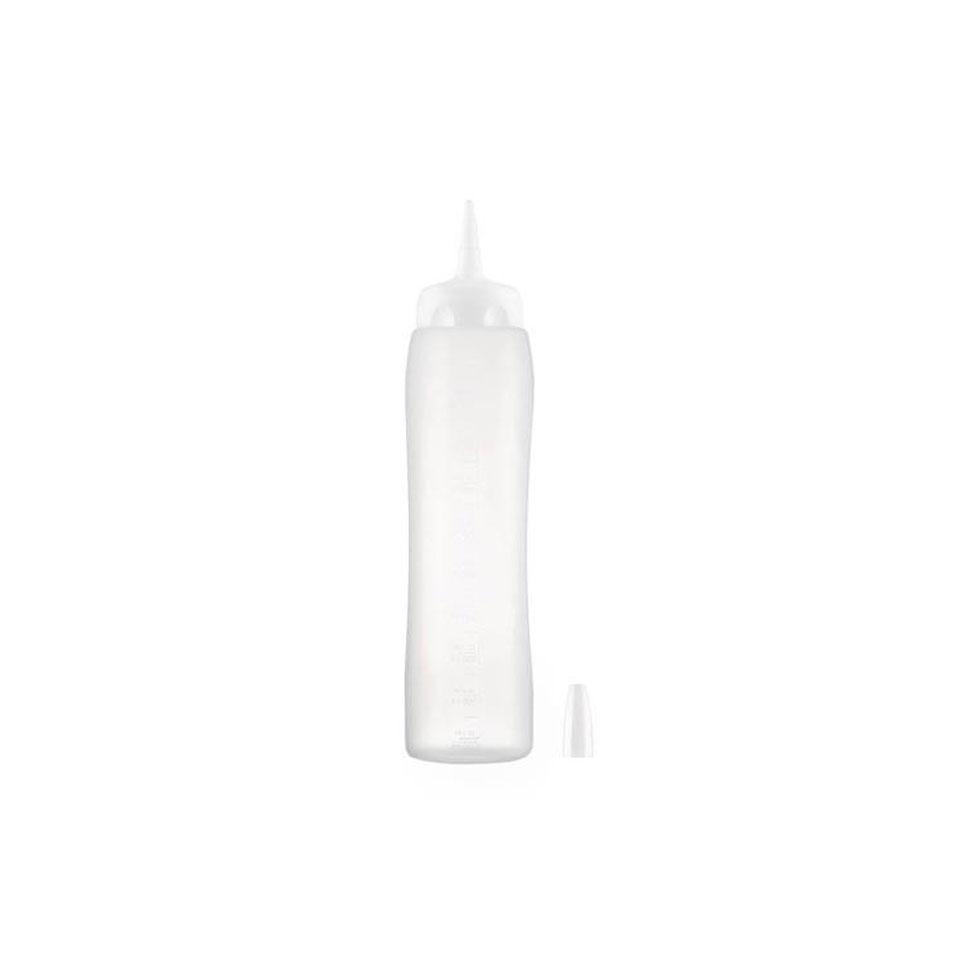 Squeeze Araven con tappo in polipropilene bianco lt 1
