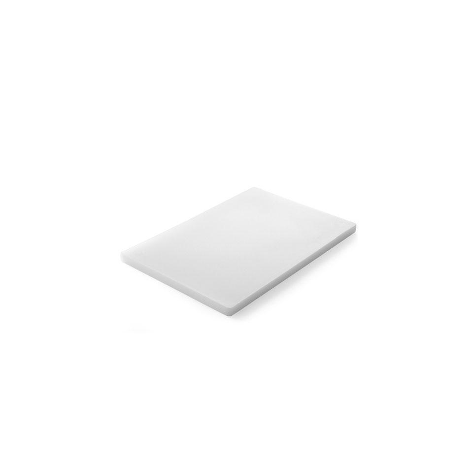 Tagliere HACCP Hendi in polietilene bianco cm 45x30x1,3