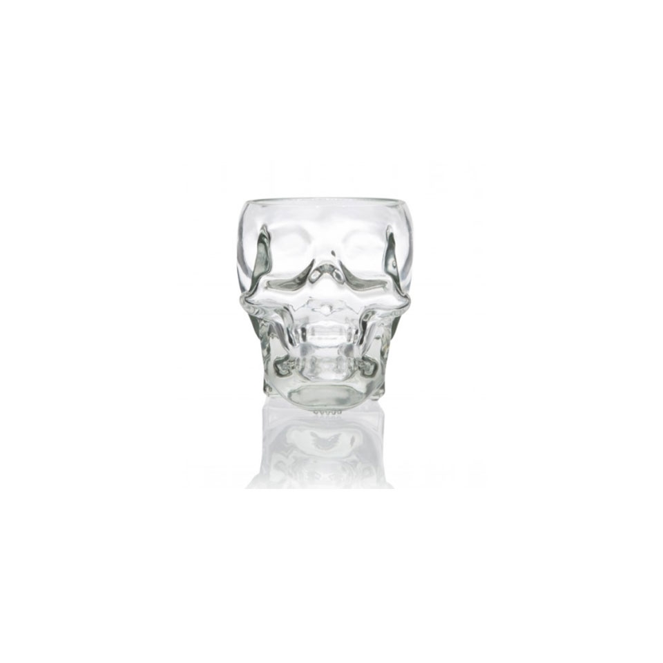 Bicchiere teschio 100% Chef in vetro cl 30