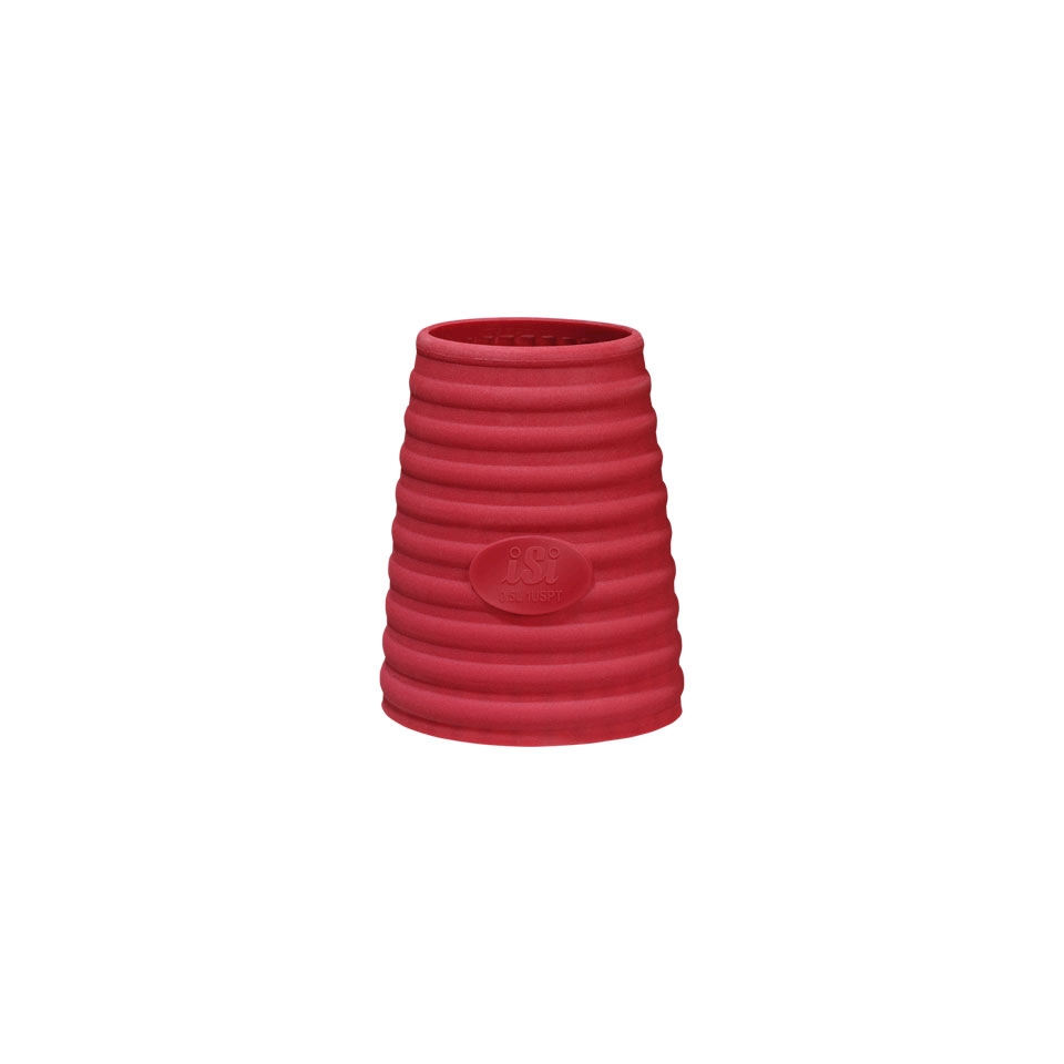 Cover Termica per sifoni Gourmet Isi in silicone rosso