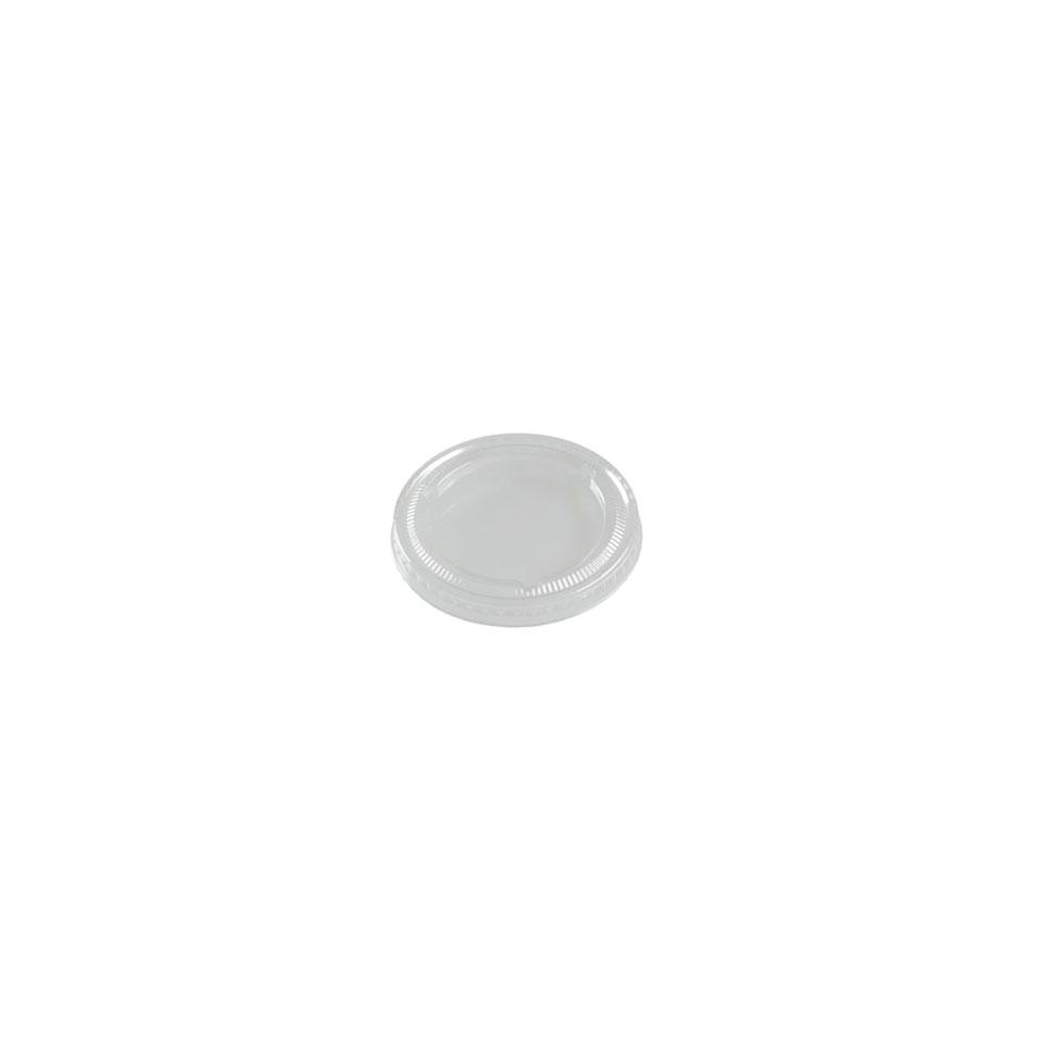 Coperchio per bicchiere tè in polistirene bianco cm 7,8