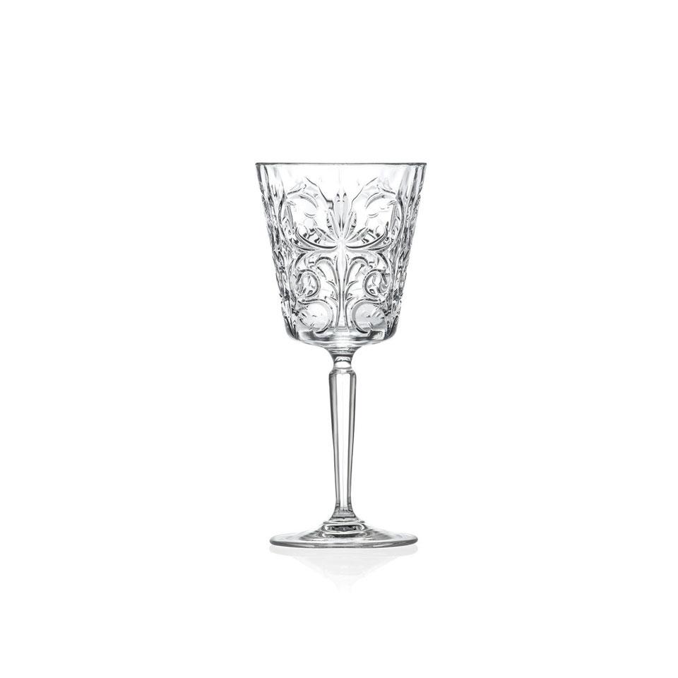 Calice acqua Tattoo RCR in vetro decorato cl 29