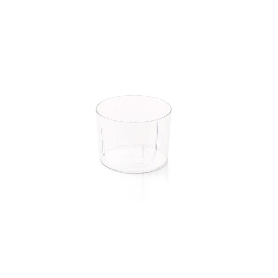 Coppetta degustazione Araven in polistirene trasparente cl 25