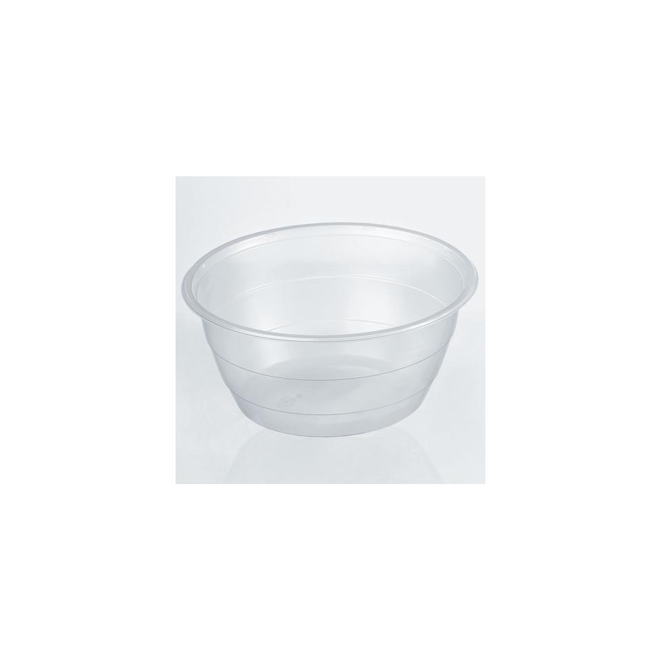 Insalatiera monouso tonda grande in polipropilene trasparente cm 20,5