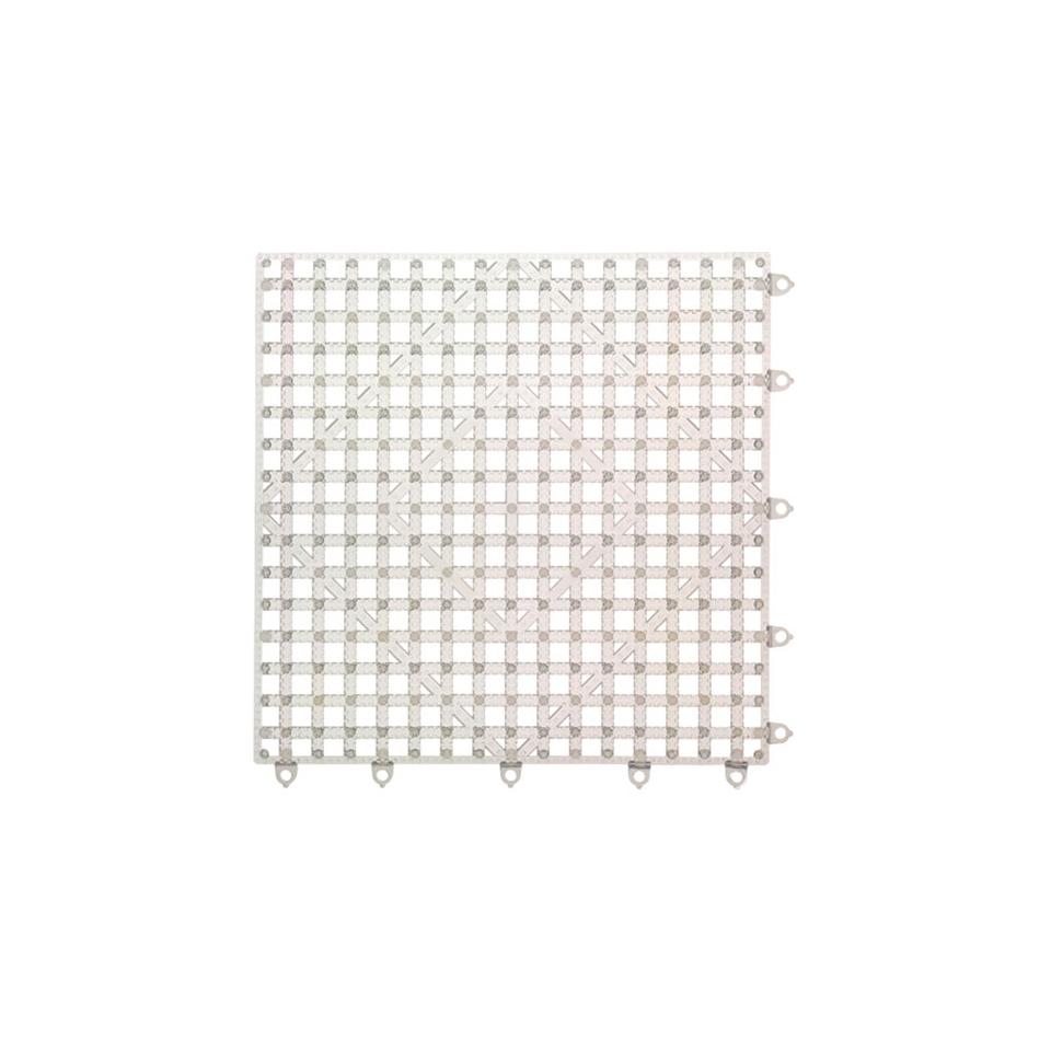 Versa Mat San Jamar plastica 30,5x30,5cm trasparente