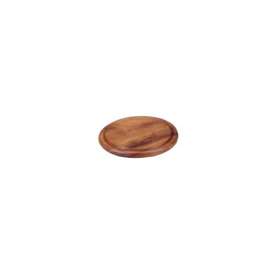 Tagliere tondo in legno di acacia