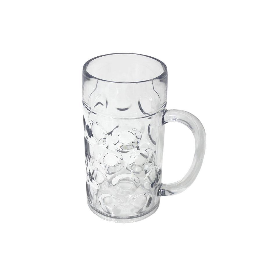 Boccale da birra in san trasparente cl 50