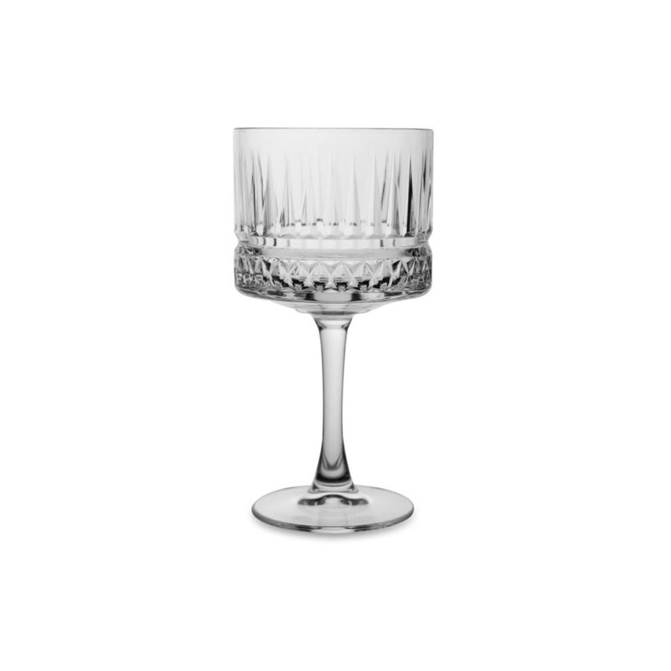 Coppa cocktail Elysia in vetro decorato cl 50