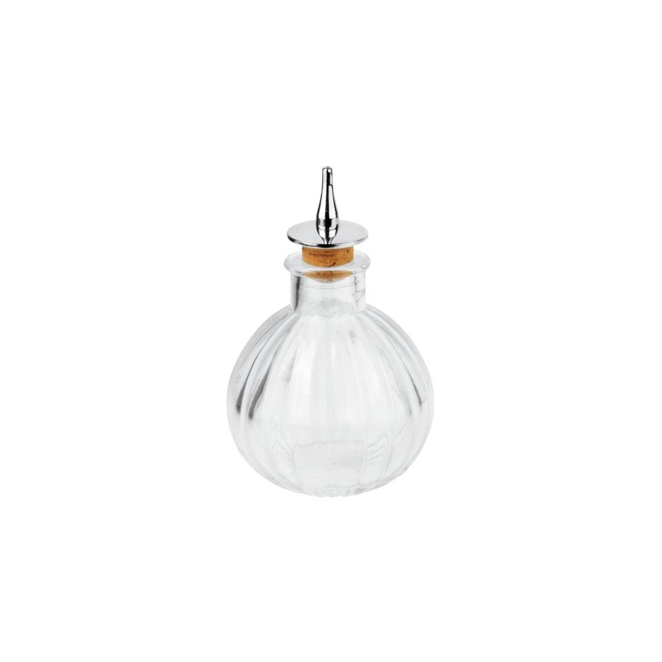 Bottiglia angostura in vetro trasparente cl 15