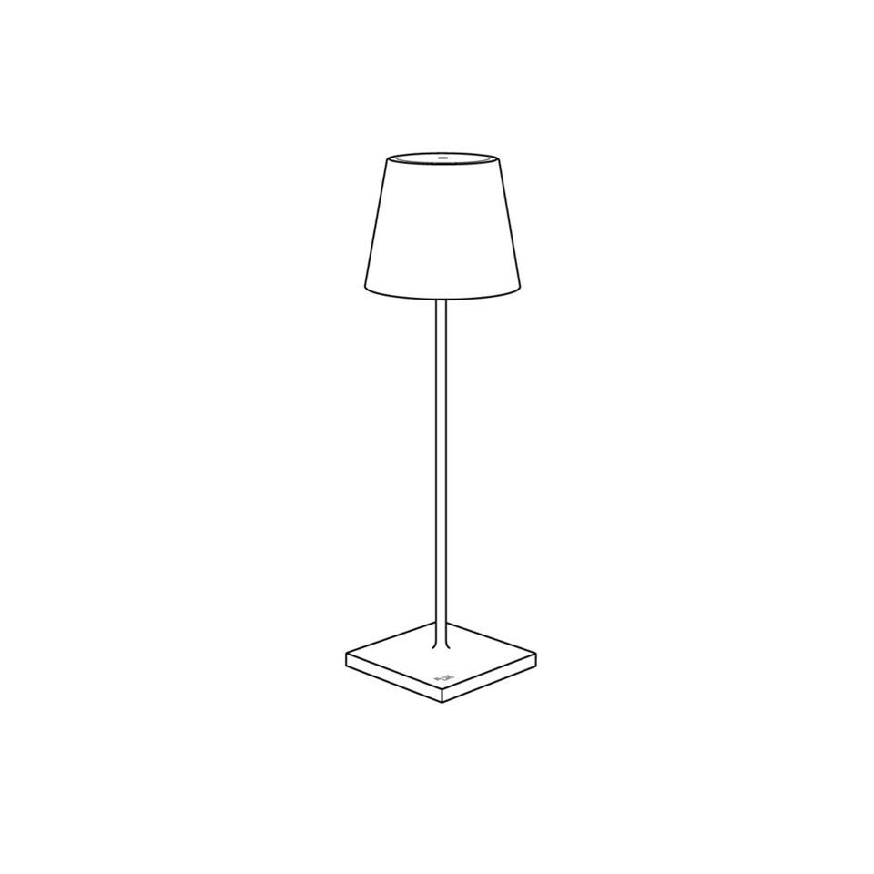 Ricambio batteria lampada Poldina Zafferano