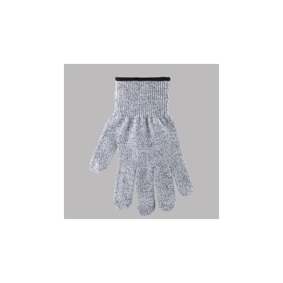 Guanto antitaglio Protecto in fibre sintetiche grigio taglia M-L