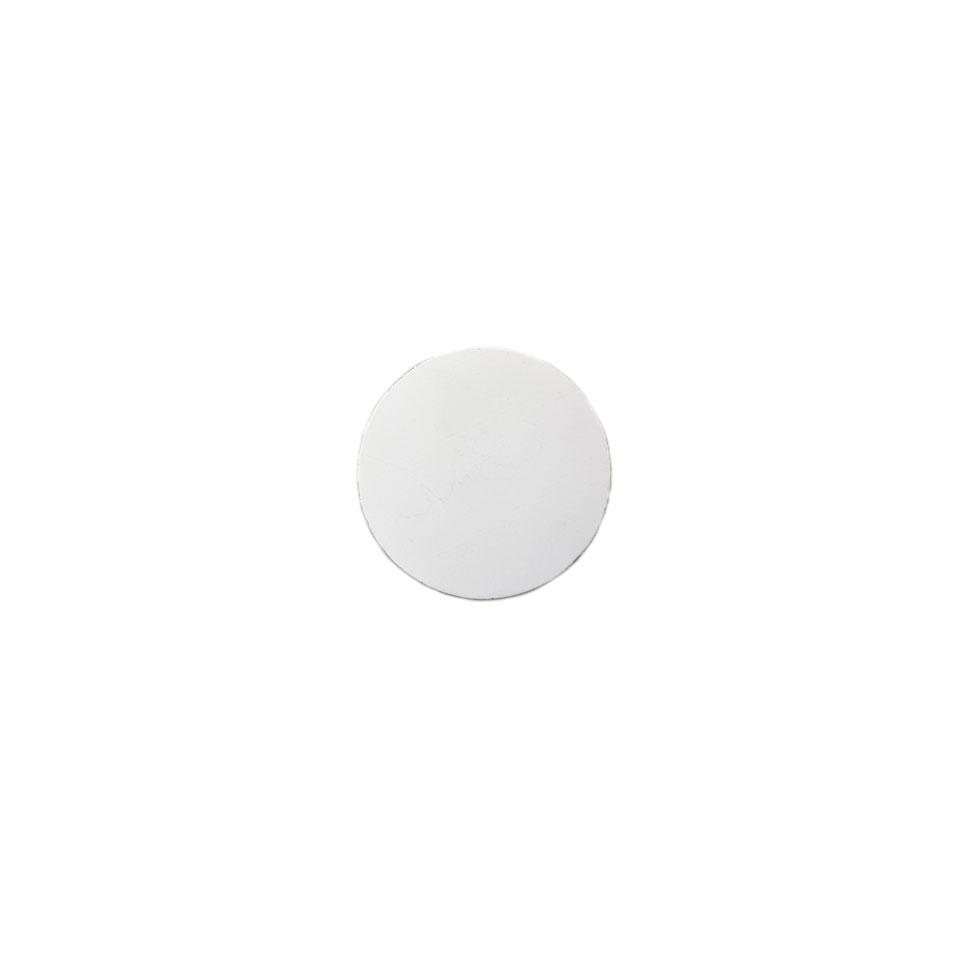 Sottobicchiere tondo in pelle rigenerata cm 10