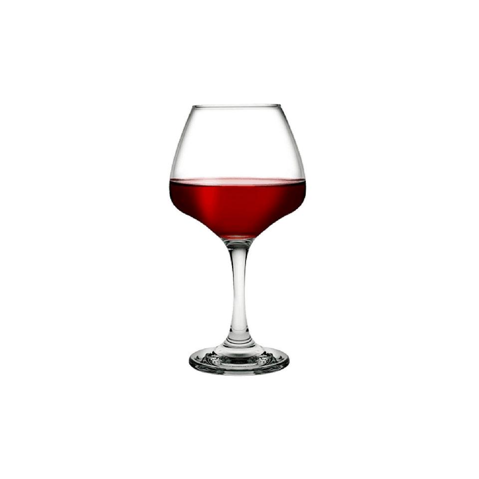 Calice Risus vini rossi Pasabahce in vetro