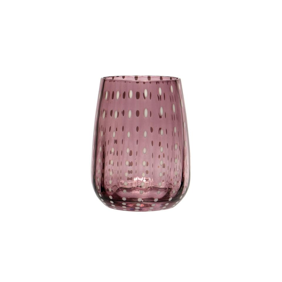 Bicchiere Perlage in vetro soffiato cl 36