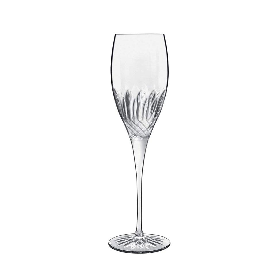 Flute prosecco Diamante Bormioli Luigi in vetro cl 22