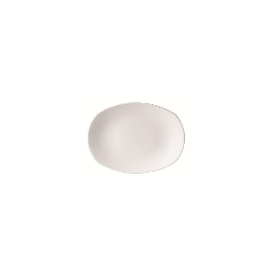 Piatto rettangolare Taste Performance Steelite in ceramica vetrificata cm 15x12,8