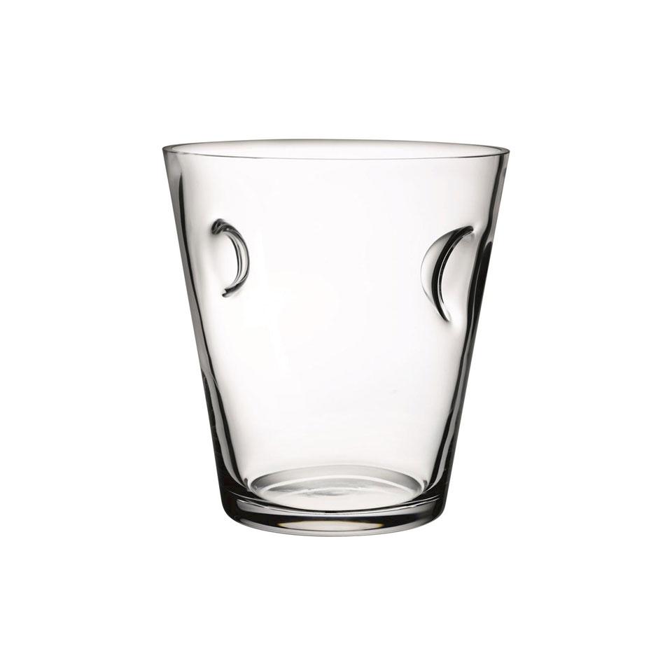 Secchiello portabottiglia Nude in vetro lt 9,5