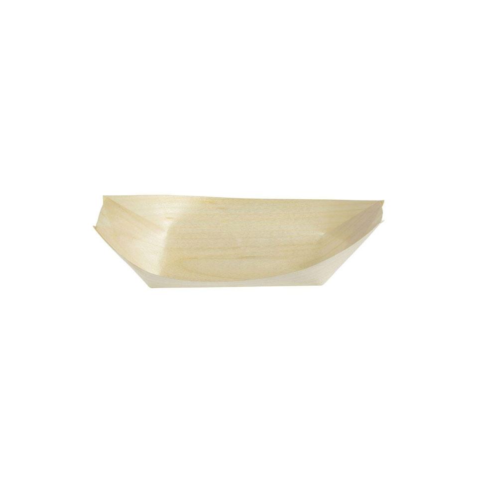 Mini barchetta in legno abete