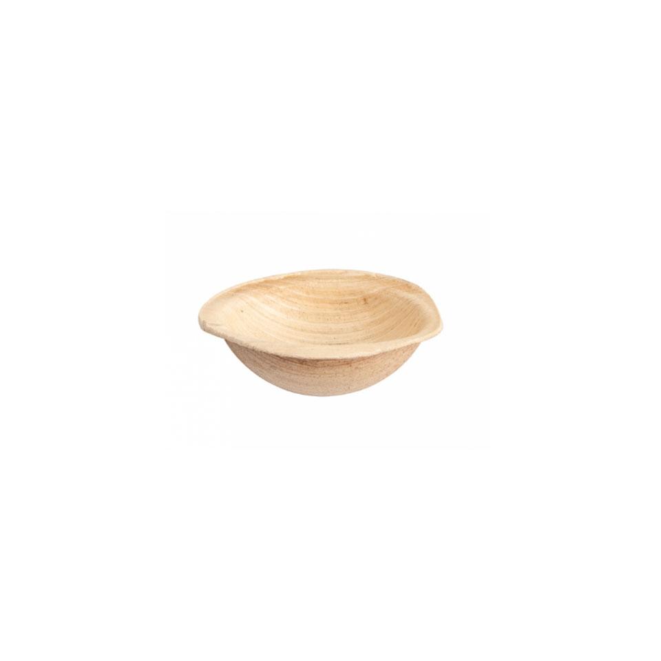 Coppetta in foglia di palma biodegradabile cm 6