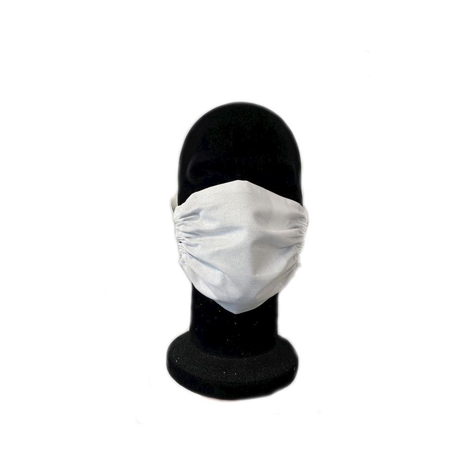 Mascherina facciale a benda in cotone e tnt