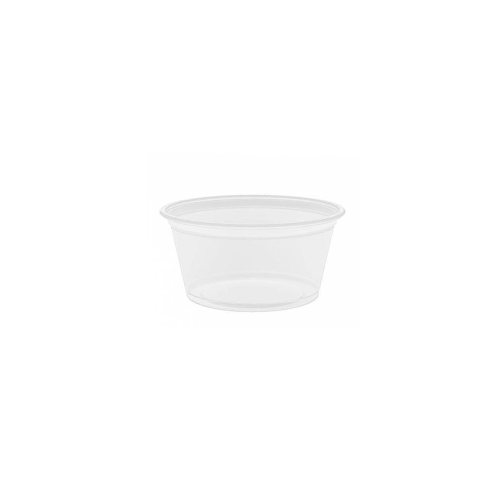 Coppetta salsa in polipropilene trasparente cl 6