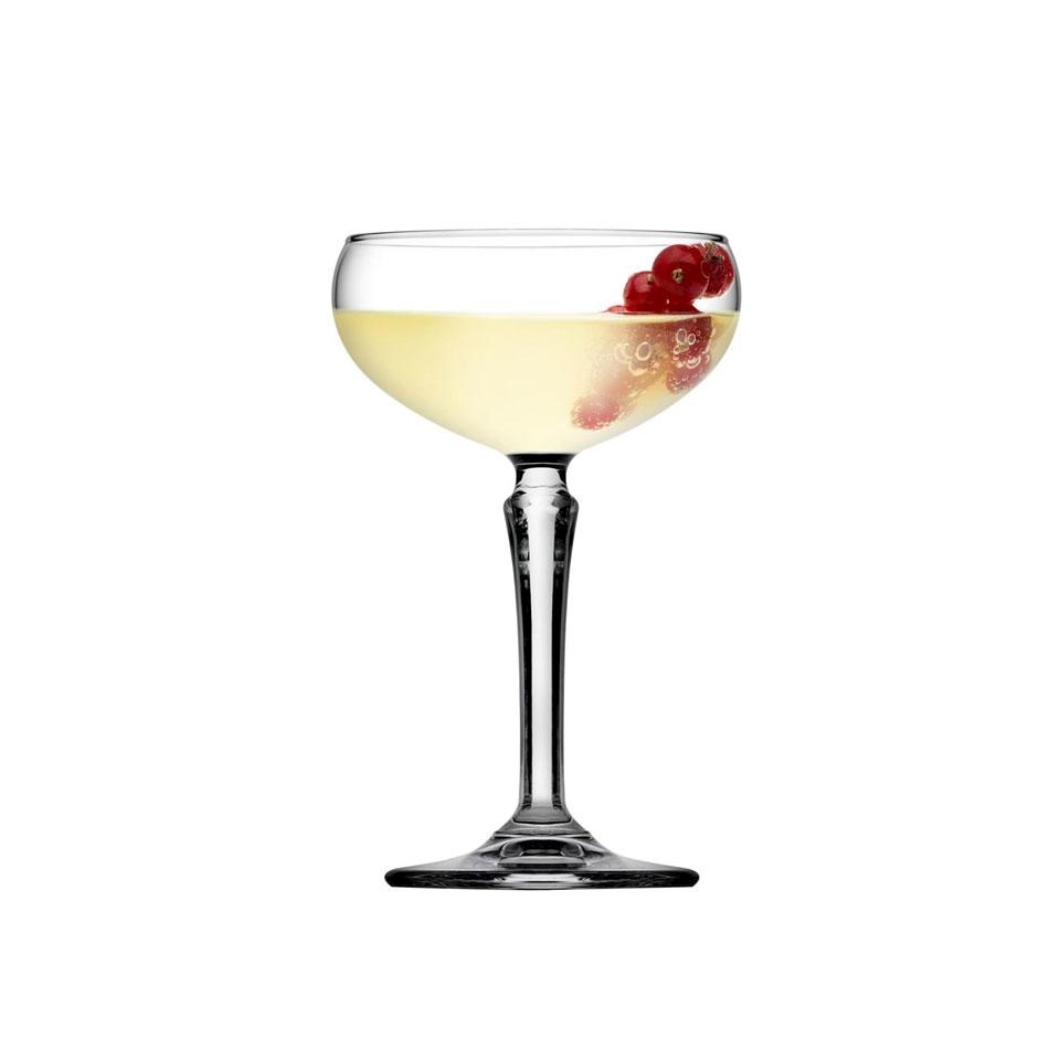 Coppa champagne Hudson in vetro cl 22