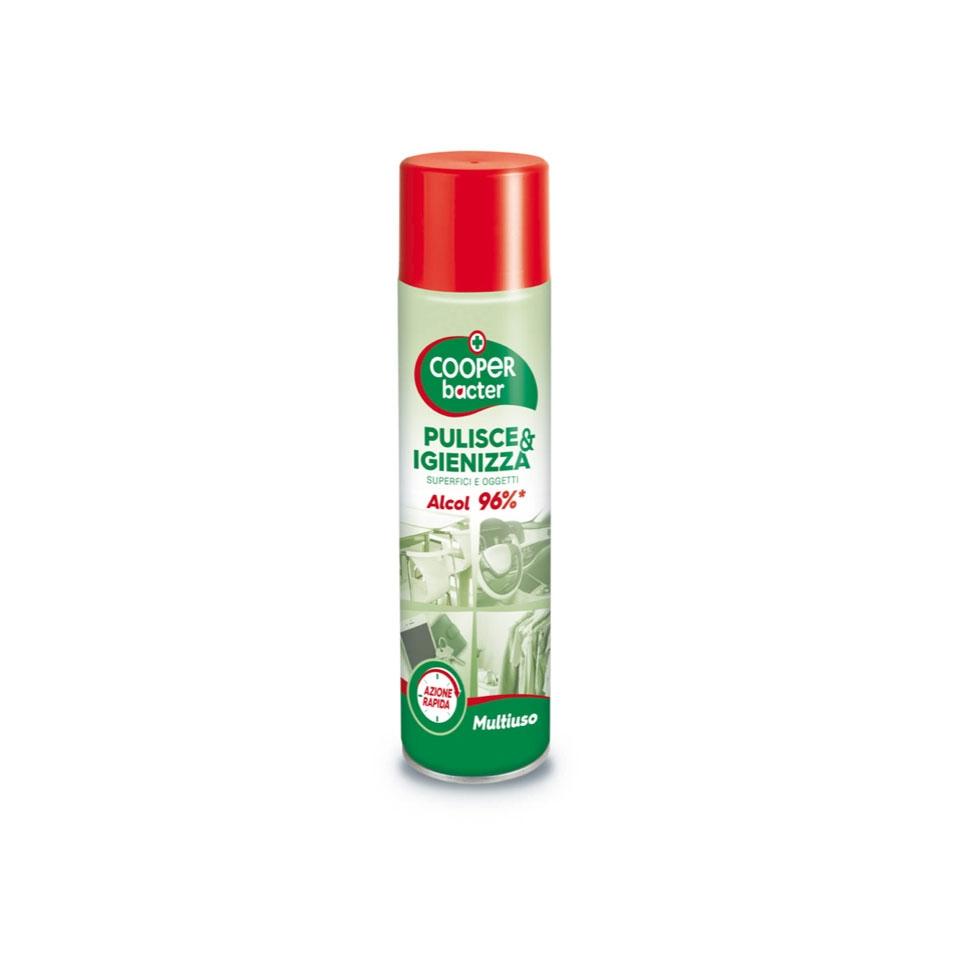Igienizzante spray multiuso Cooperbacter ml 300