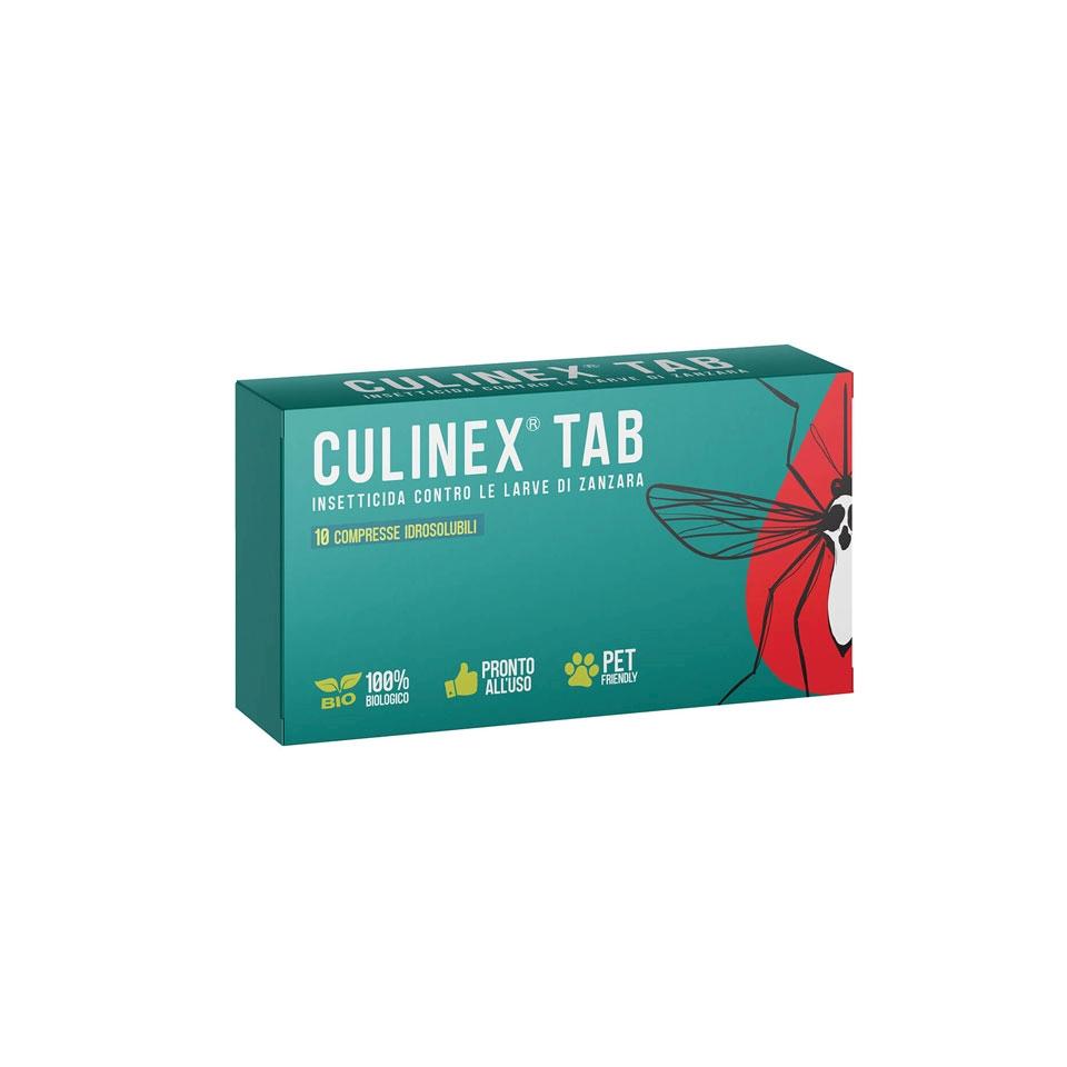 Insetticida per larve di zanzare Culinex tab 10 compresse
