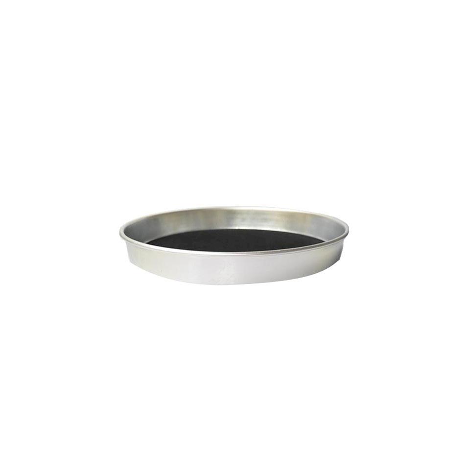 Vassoio tondo antiscivolo in alluminio