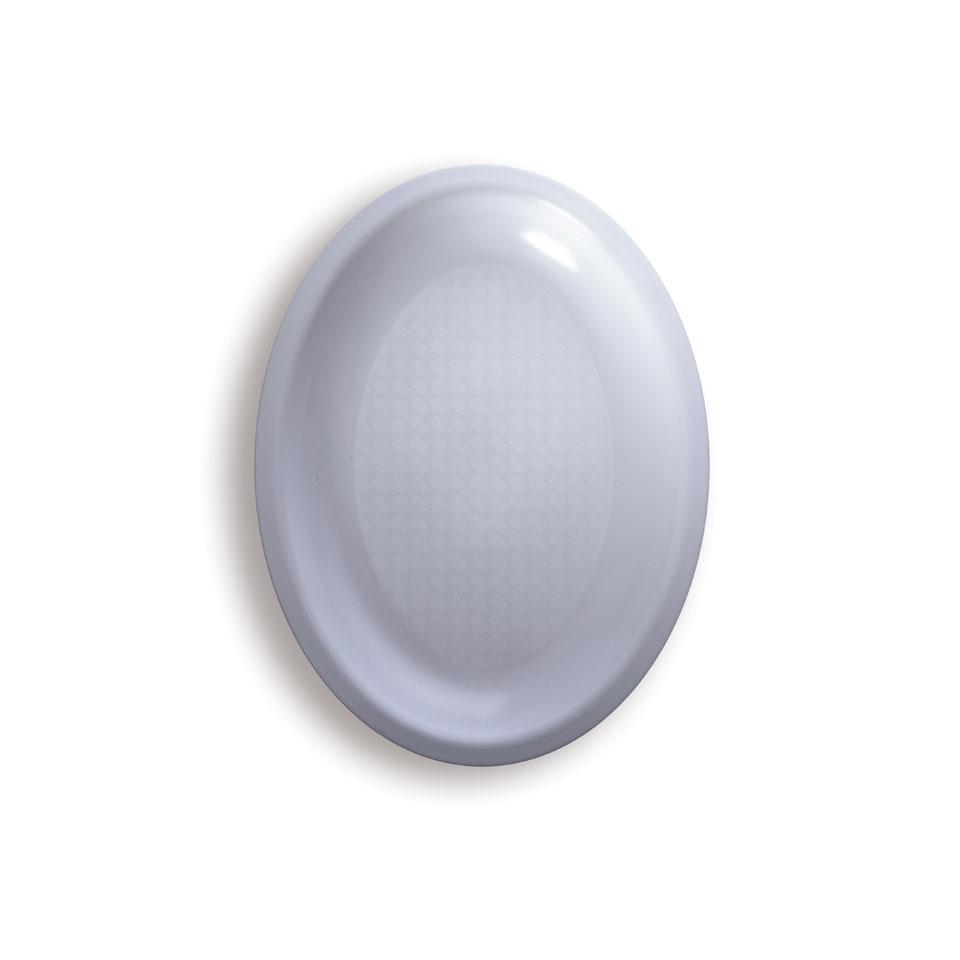 Piatto ovale in polipropilene cm 25,5x19