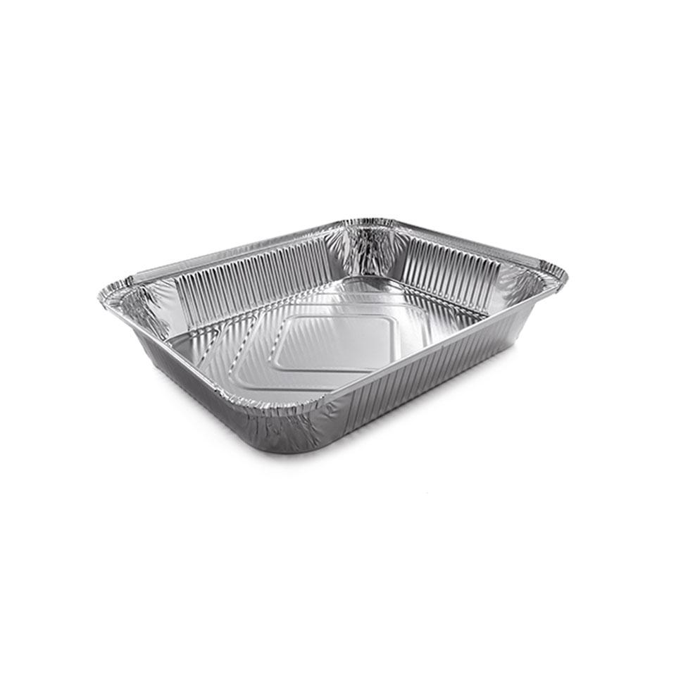 Vaschetta rettangolare Wrickenwall in alluminio cm 31,9x26,2x5