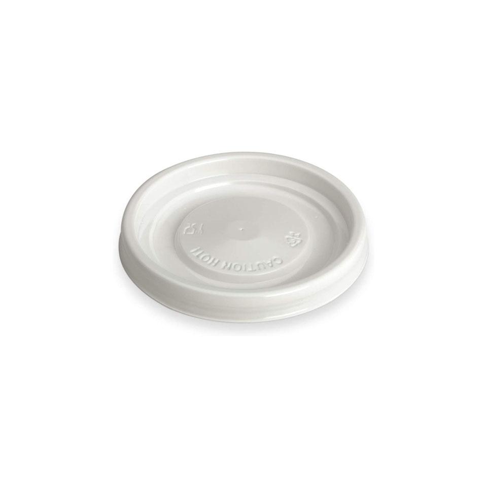 Coperchio in plastica bianca cm 6,4