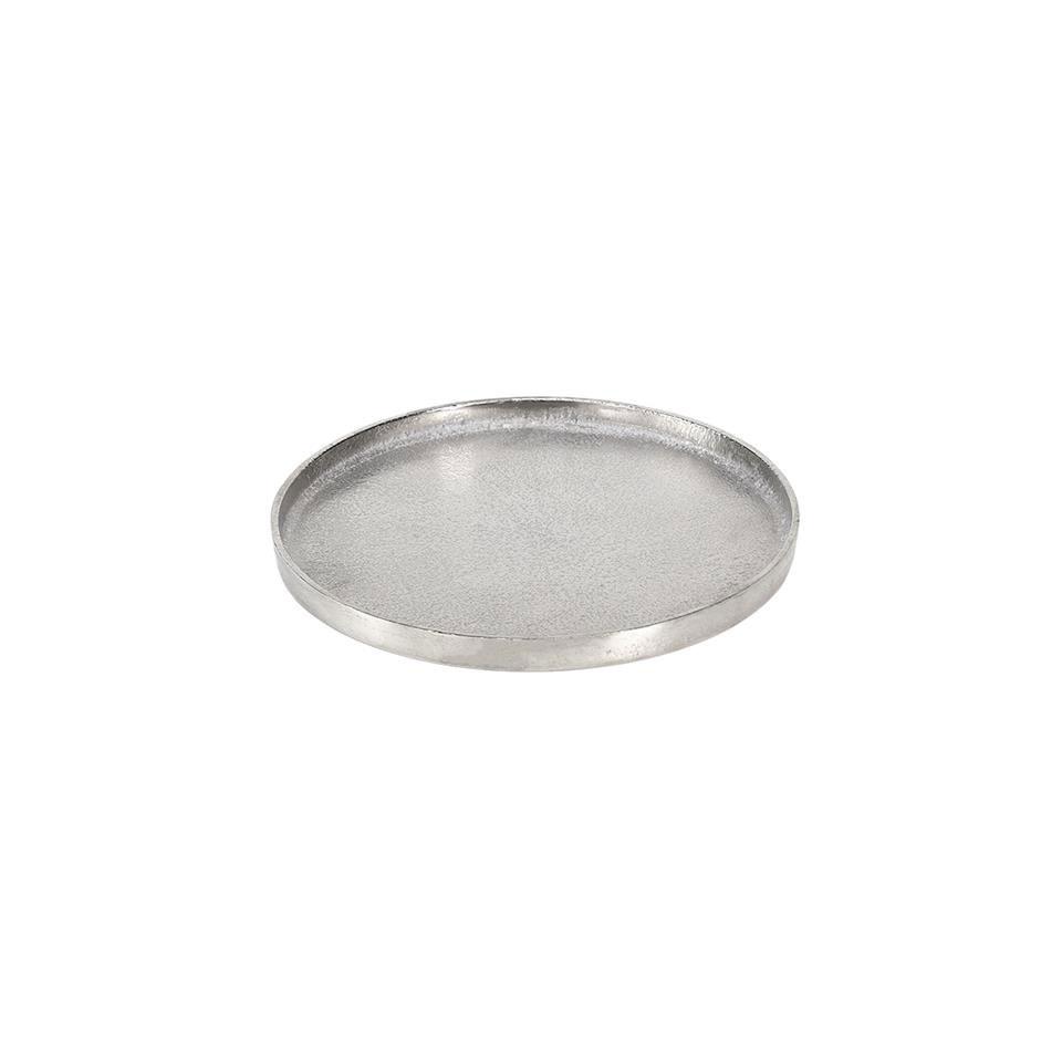 Vassoio tondo Small in alluminio cm 25