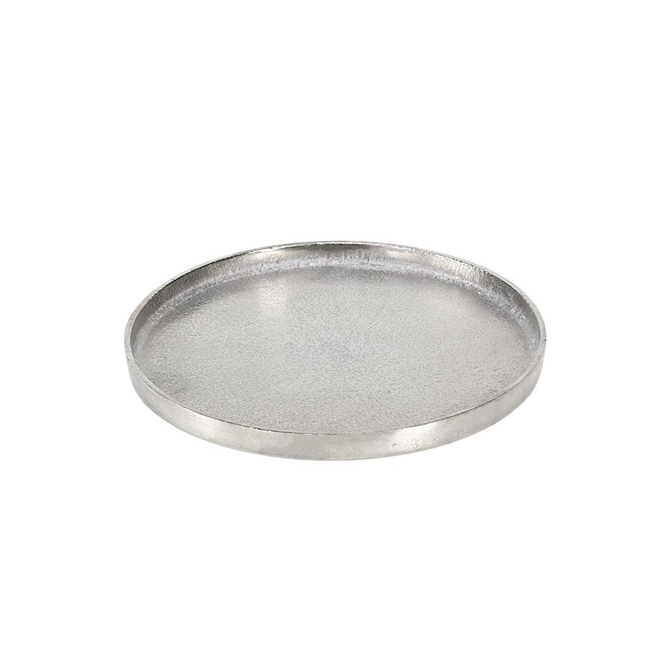 Vassoio tondo Large in alluminio cm 38,5