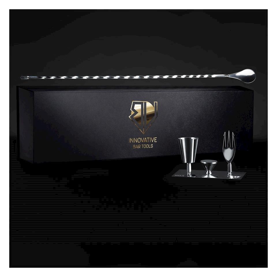 Bar Main Spoon Bruno Vanzan made in Italy in acciaio inox