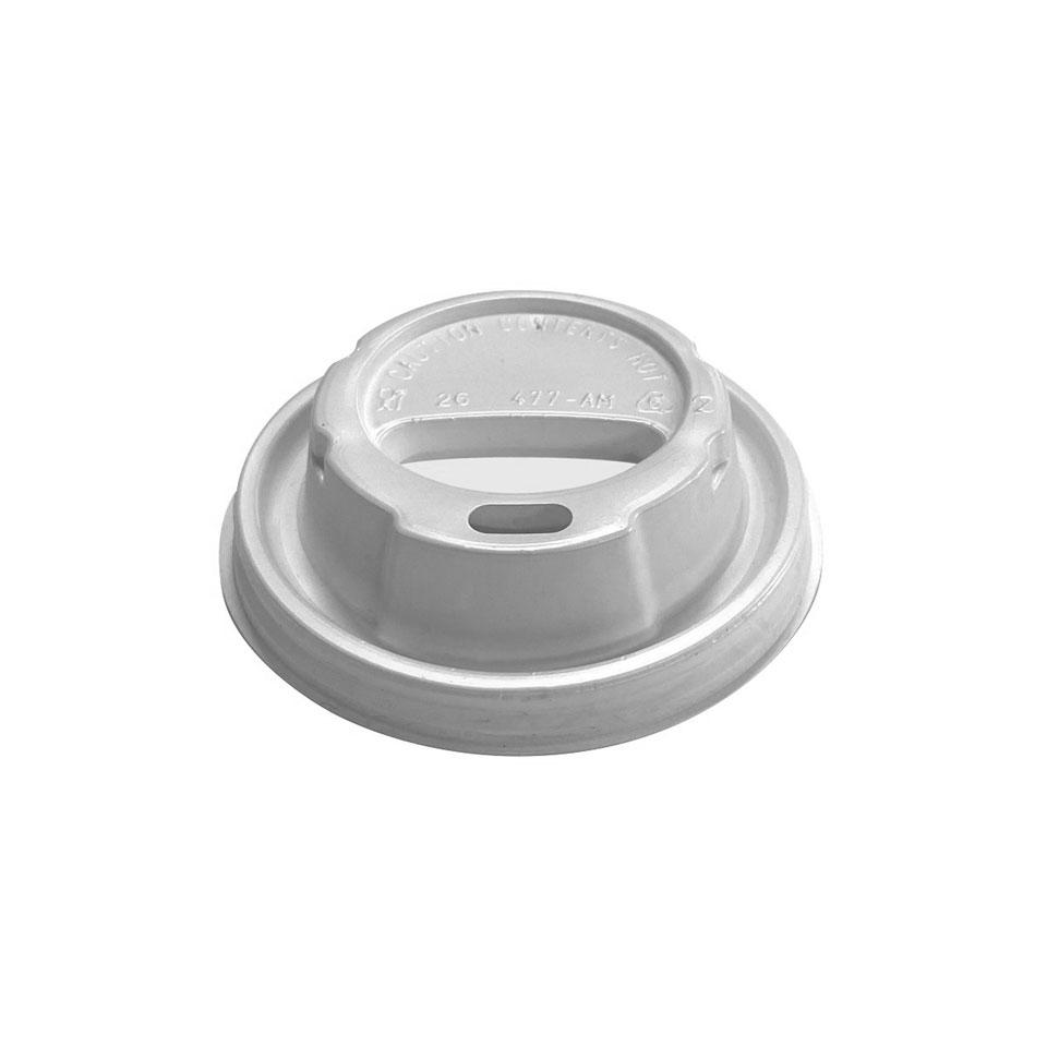Coperchio in plastica bianca cm 7,5