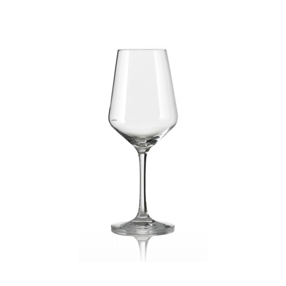 Calice Lounge con tacca in vetro cl 37