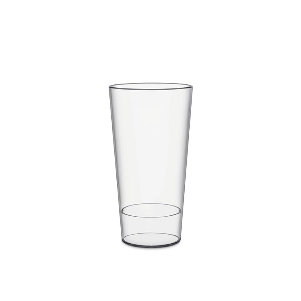 Bicchiere Urban con tacca in san trasparente