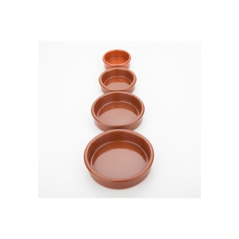 Coppetta crema catalana 100% Chef in terracotta cm 12