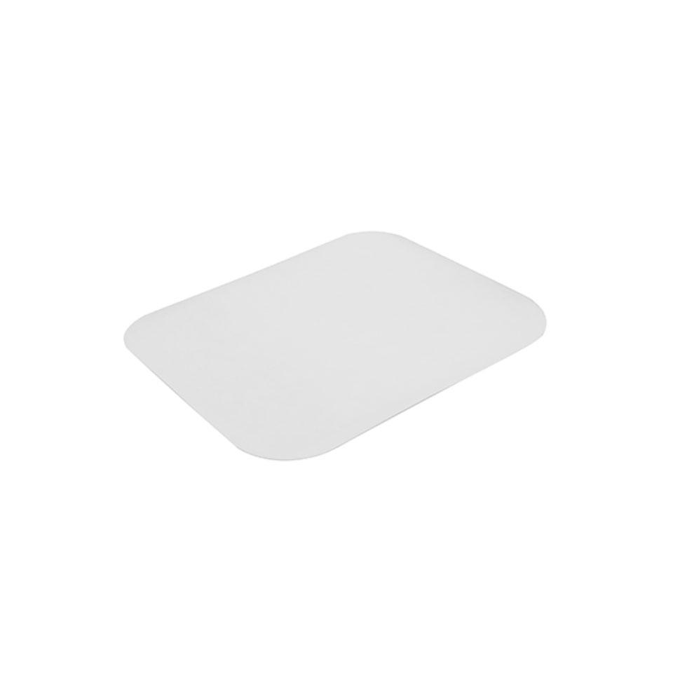Coperchio rettangolare in cartone e alluminio cm 31,3x25,4