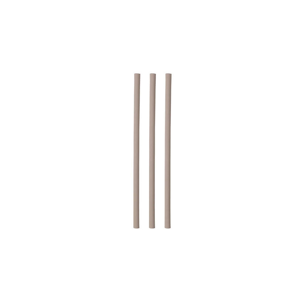 Cannucce mono imbustate in bamboo naturale cm 23x0,6