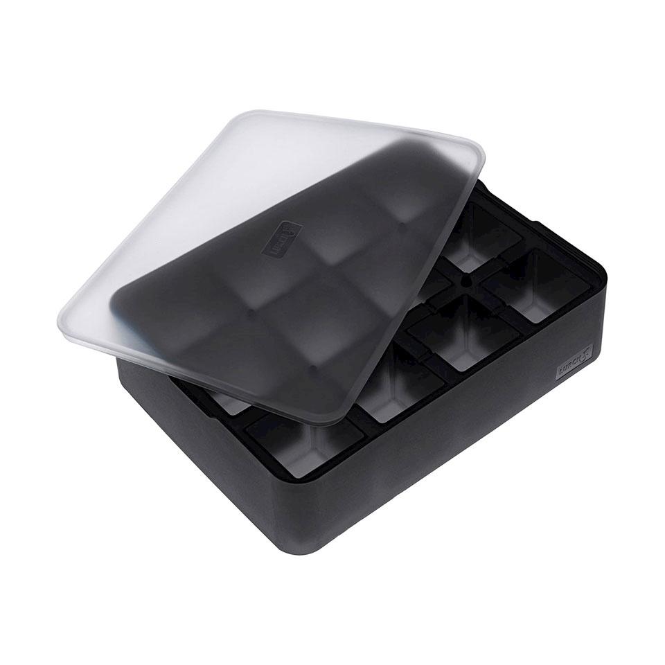 Stampo ghiaccio cubo in silicone nero